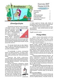 Świebodzice - Dzieje Miasta, 2007, nr 6 (115) [Dokument elektroniczny]
