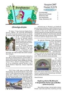 Świebodzice - Dzieje Miasta, 2007, nr 8 (117) [Dokument elektroniczny]