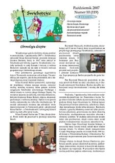 Świebodzice - Dzieje Miasta, 2007, nr 10 (119) [Dokument elektroniczny]