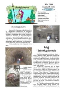 Świebodzice - Dzieje Miasta, 2006, nr 5 (103) [Dokument elektroniczny]
