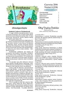 Świebodzice - Dzieje Miasta, 2006, nr 6 (104) [Dokument elektroniczny]