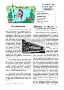 Świebodzice - Dzieje Miasta, 2006, nr 9 (106) [Dokument elektroniczny]