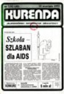 Kurenda : jeleniogórski informator oświatowy, 1992, nr 7 (40)