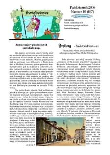 Świebodzice - Dzieje Miasta, 2006, nr 10 (107) [Dokument elektroniczny]