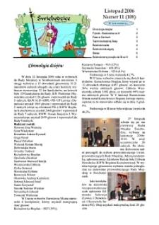 Świebodzice - Dzieje Miasta, 2006, nr 11 (108) [Dokument elektroniczny]