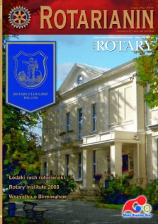 Rotarianin, 2008, nr 5