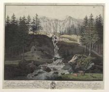 Der Abffal der Auppe im Riesengebirge [Dokument ikonograficzny]