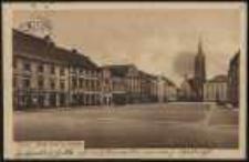 Ohlau - Ring und Ev. Kirche [Dokument ikonograficzny]