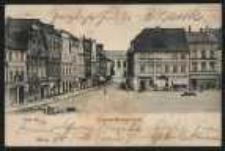 Ohlau - Ring und Breslauerstrasse [Dokument ikonograficzny]