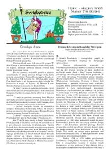 Świebodzice - Dzieje Miasta, 2005, nr 7/8 (93/94) [Dokument elektroniczny]