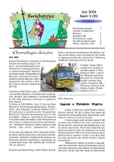 Świebodzice - Dzieje Miasta, 2004, nr 2 (76) [Dokument elektroniczny]