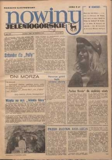 Nowiny Jeleniogórskie : magazyn ilustrowany, R. 16!, 1974, nr 25 (830)