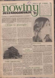 Nowiny Jeleniogórskie : magazyn ilustrowany, R. 16!, 1974, nr 40 (845)