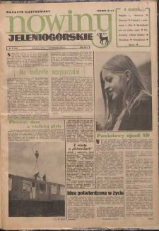 Nowiny Jeleniogórskie : magazyn ilustrowany, R. 16!, 1974, nr 45 (850)