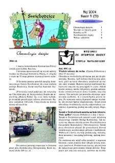 Świebodzice - Dzieje Miasta, 2004, nr 5 (73!) [Dokument elektroniczny]