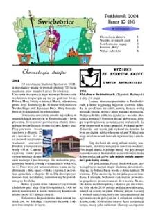 Świebodzice - Dzieje Miasta, 2004, nr 10 (84) [Dokument elektroniczny]