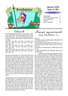 Świebodzice - Dzieje Miasta, 2004, nr 11 (85) [Dokument elektroniczny]
