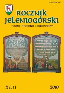 Rocznik Jeleniogórski : pismo regionu Karkonoszy, T. 42 (2010)