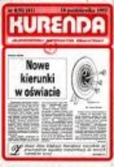 Kurenda : jeleniogórski informator oświatowy, 1992, nr 8 (41)