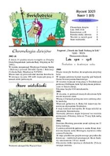 Świebodzice - Dzieje Miasta, 2003, nr 1 (63) [Dokument elektroniczny]