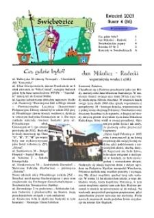Świebodzice - Dzieje Miasta, 2003, nr 4 (66) [Dokument elektroniczny]