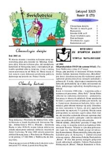 Świebodzice - Dzieje Miasta, 2003, nr 11 (73) [Dokument elektroniczny]