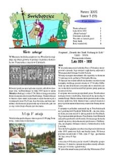 Świebodzice - Dzieje Miasta, 2002, nr 3 (53) [Dokument elektroniczny]