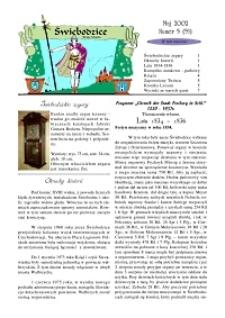Świebodzice - Dzieje Miasta, 2002, nr 5 (55) [Dokument elektroniczny]
