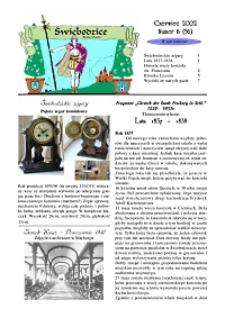 Świebodzice - Dzieje Miasta, 2002, nr 6 (56) [Dokument elektroniczny]
