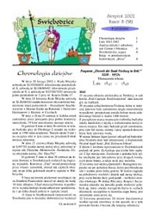 Świebodzice - Dzieje Miasta, 2002, nr 8 (58) [Dokument elektroniczny]