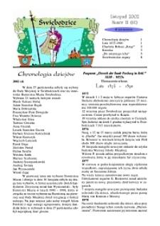 Świebodzice - Dzieje Miasta, 2002, nr 11 (61) [Dokument elektroniczny]