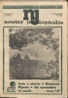 Nowiny Jeleniogórskie : tygodnik społeczny, [R. 34], 1991, nr 12 (1623)