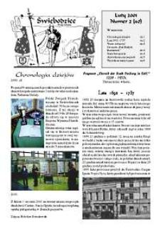 Świebodzice - Dzieje Miasta, 2001, nr 2 (40) [Dokument elektroniczny]