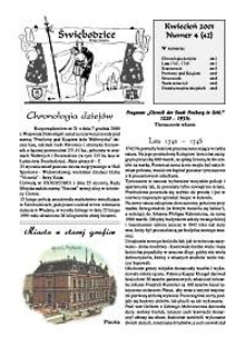 Świebodzice - Dzieje Miasta, 2001, nr 4 (42) [Dokument elektroniczny]