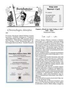 Świebodzice - Dzieje Miasta, 2001, nr 5 (43) [Dokument elektroniczny]