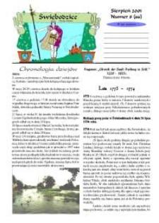Świebodzice - Dzieje Miasta, 2001, nr 8 (46) [Dokument elektroniczny]