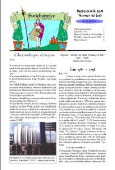 Świebodzice - Dzieje Miasta, 2001, nr 10 (48) [Dokument elektroniczny]