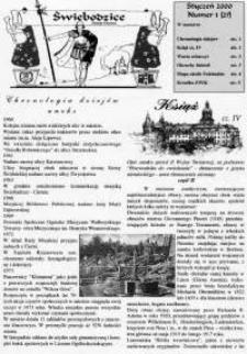 Świebodzice - Dzieje Miasta, 2000, nr 1 (27) [Dokument elektroniczny]