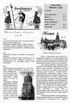 Świebodzice - Dzieje Miasta, 2000, nr 2 (28) [Dokument elektroniczny]