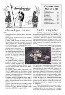 Świebodzice - Dzieje Miasta, 2000, nr 6 (32) [Dokument elektroniczny]