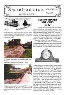 Świebodzice - Dzieje Miasta, 1999, nr [4] (18) [Dokument elektroniczny]