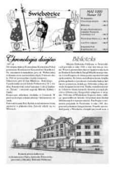Świebodzice - Dzieje Miasta, 1999, nr [5] (18) [Dokument elektroniczny]