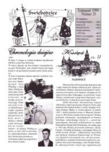 Świebodzice - Dzieje Miasta, 1999, nr [11] (25) [Dokument elektroniczny]