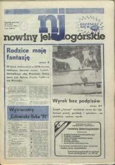 Nowiny Jeleniogórskie : tygodnik społeczny, [R. 35], 1992, nr 3 (1665)