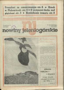 Nowiny Jeleniogórskie : tygodnik społeczny, [R. 34], 1991, nr 39 (1650)