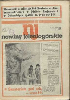 Nowiny Jeleniogórskie : tygodnik społeczny, [R. 34], 1991, nr 41 (1652)