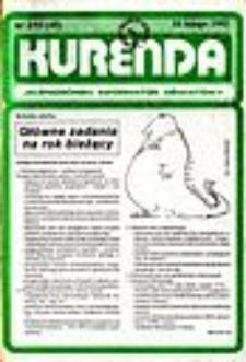 Kurenda : jeleniogórski informator oświatowy, 1993, nr 2 (45)