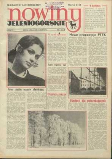 Nowiny Jeleniogórskie : magazyn ilustrowany ziemi jeleniogórskiej, R. 15, 1972, nr 4 (715)