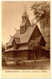 Bierutowice - Kościółek norweski z Wang [Dokument ikonograficzny]