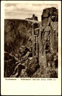 Karkonosze - Schronisko Śnieżne Jamy [Dokument ikonograficzny]